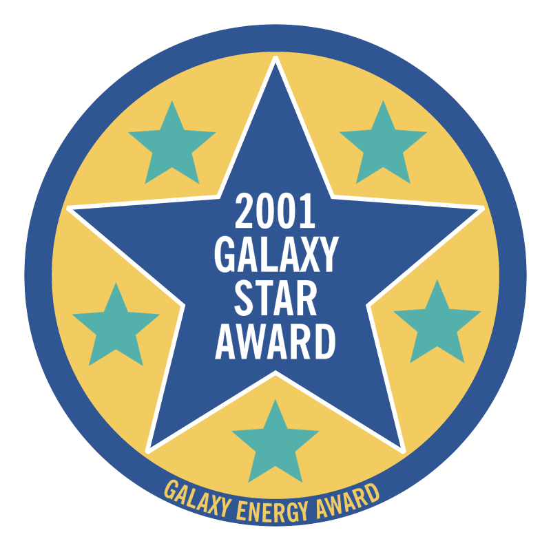 Galaxy Star Award 2001 vector