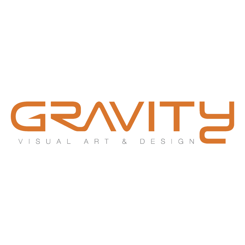 Gravity vector logo