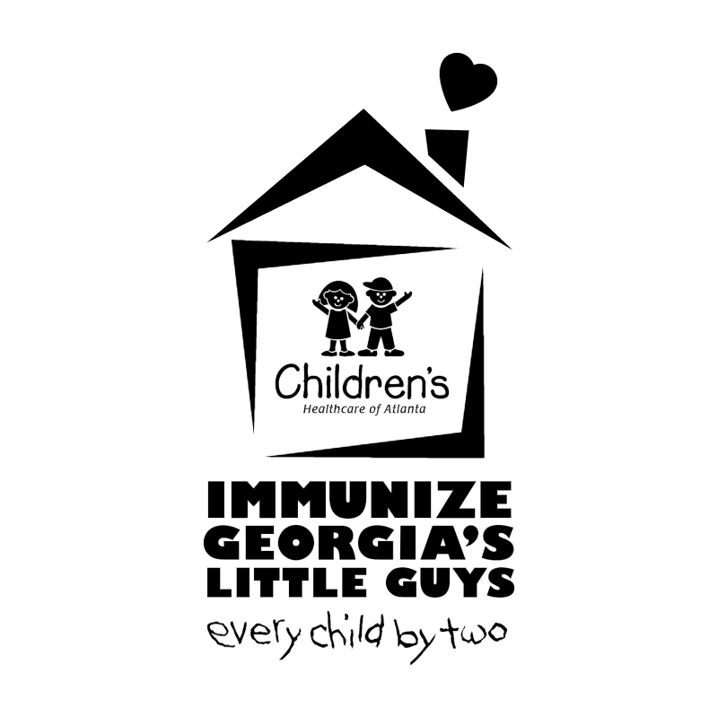 Immunize Georgia's Little Guys vector