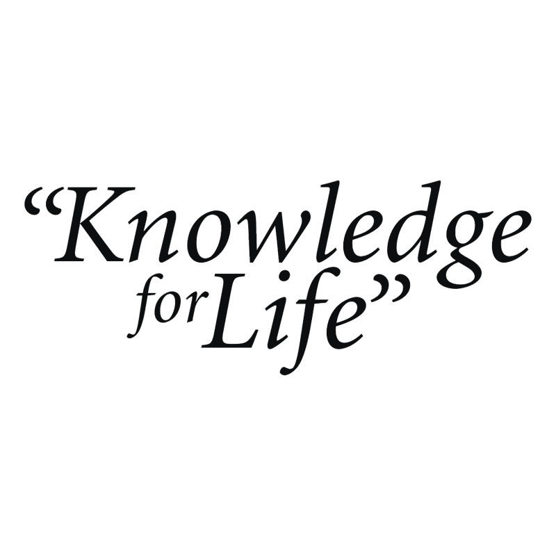 Knowledge for Life vector