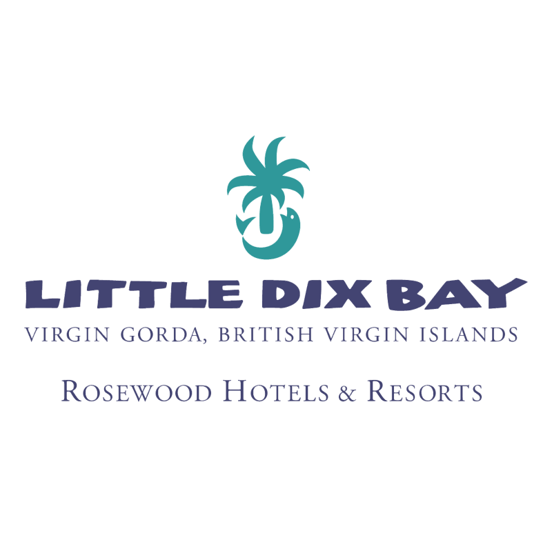 Little Dix Bay vector