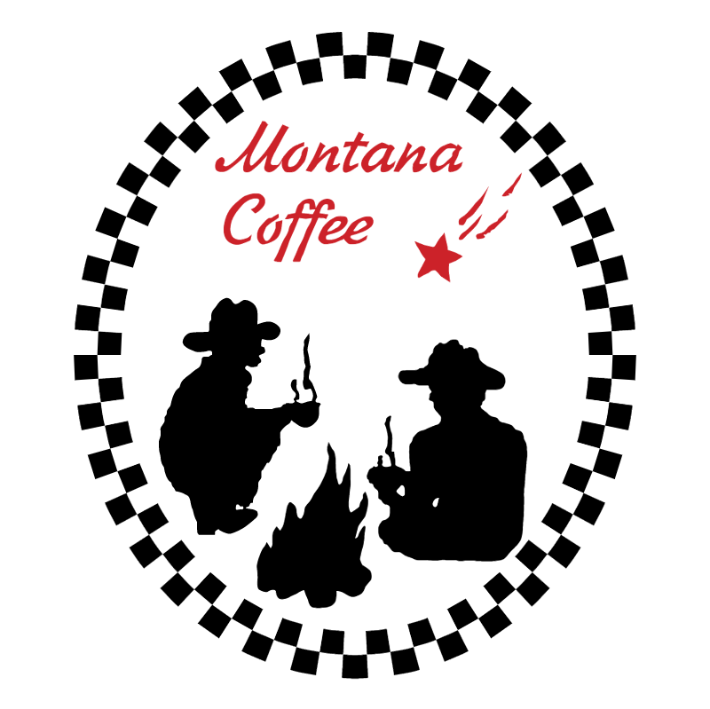 Montana Coffee vector logo