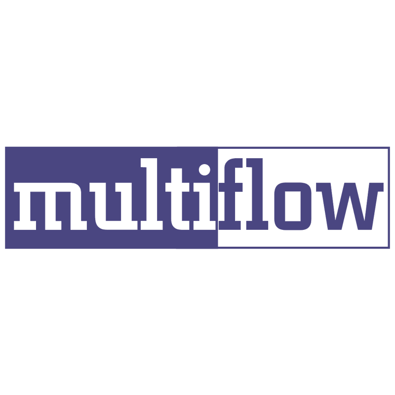 Multiflow vector logo