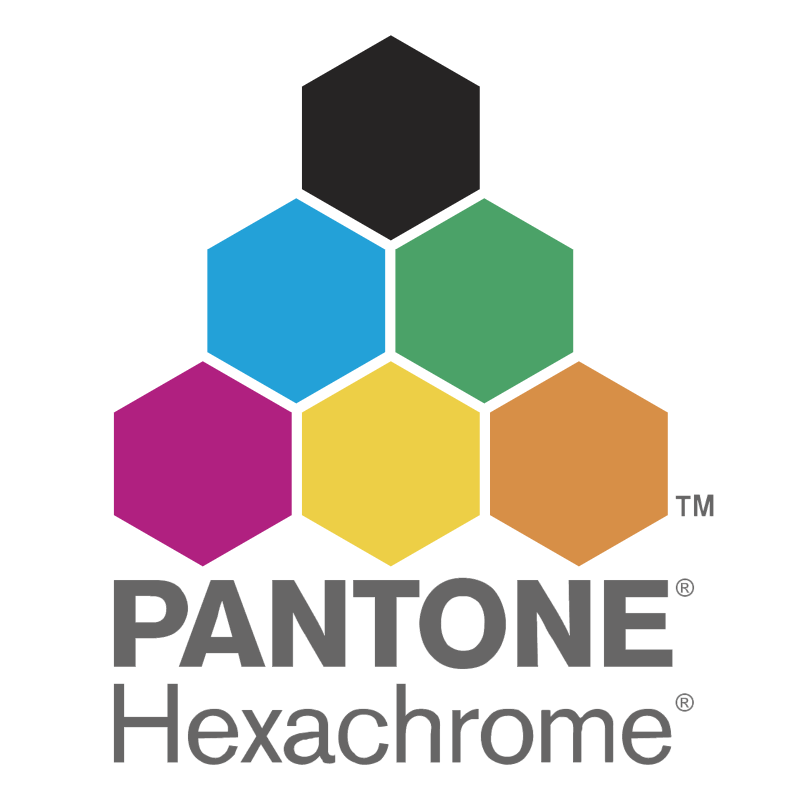 Pantone Hexachrome vector