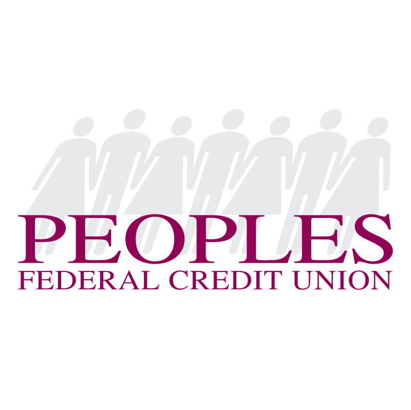 Peoples Federal Credit Union vector