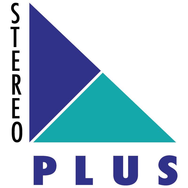 Stereo Plus vector logo