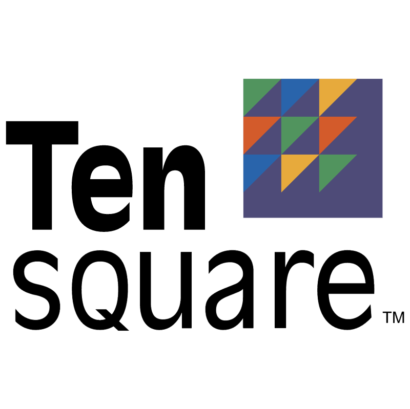 Ten Square vector