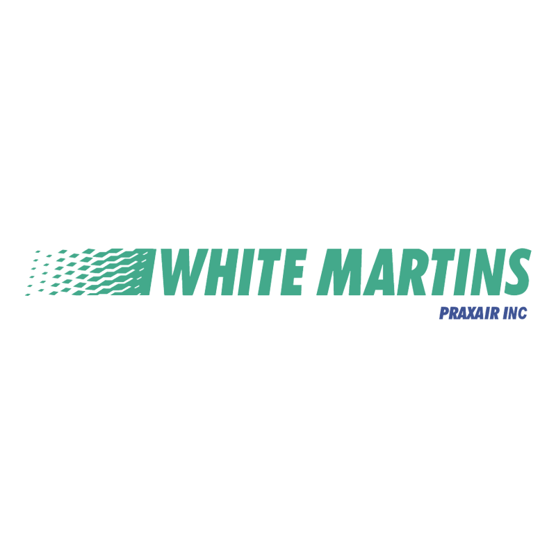 White Martins vector