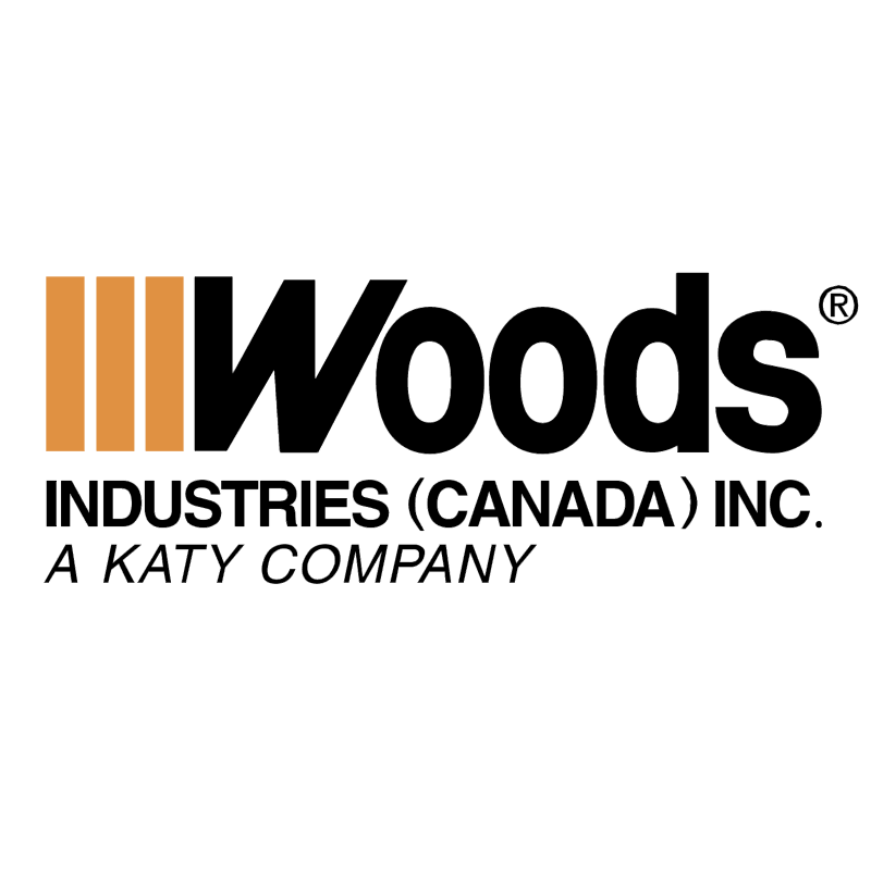 Woods Industries Canada vector