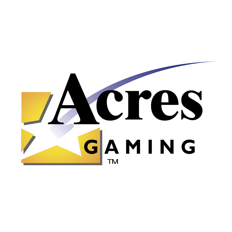 Acres Gaming vector logo