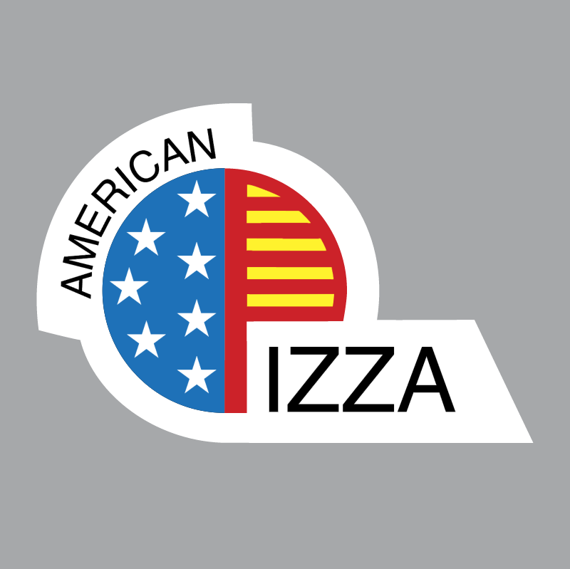American Pizza vector