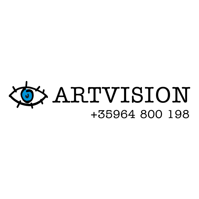 ARTVISION advertising vector
