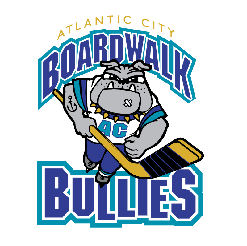 Atlantic City Boardwalk Bullies vector