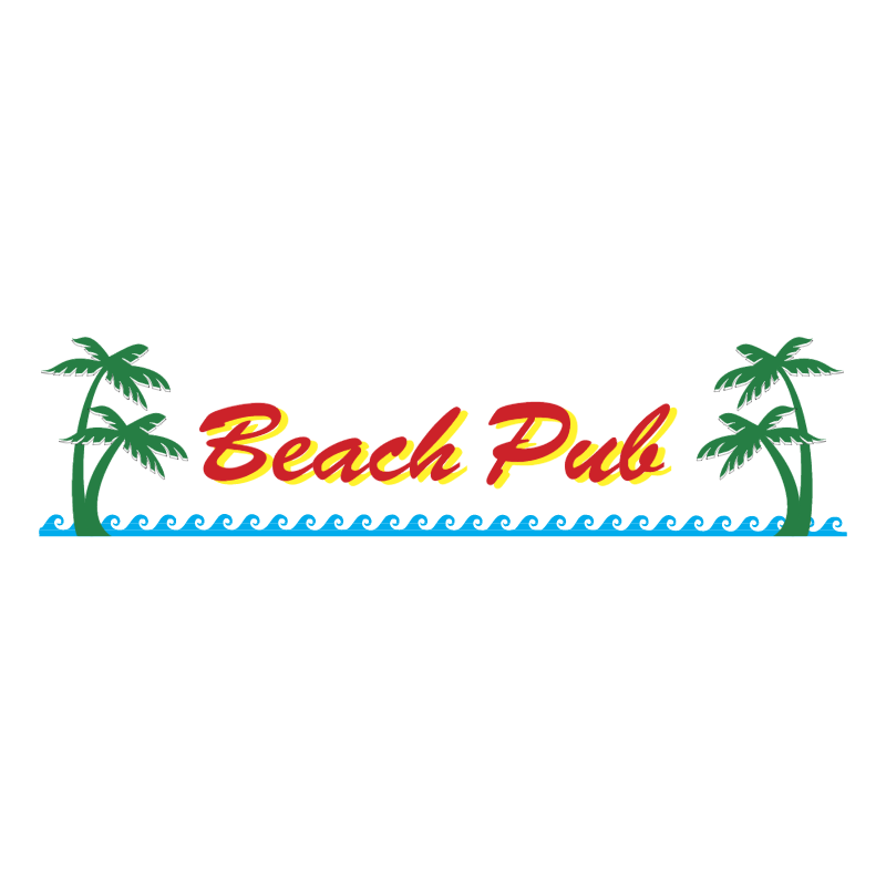 Beach Pub 71602 vector