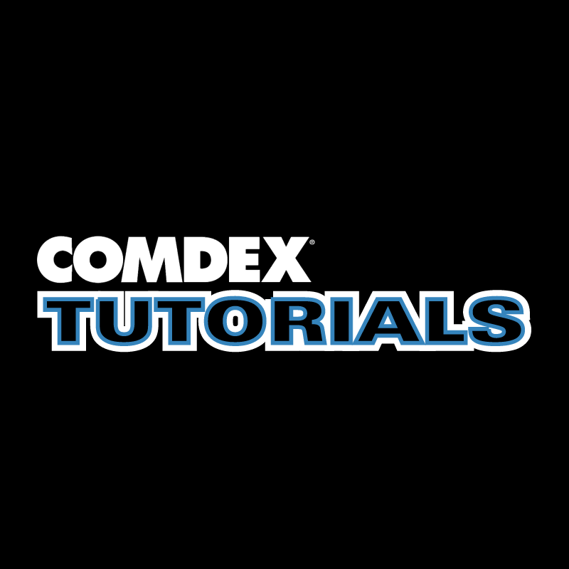 Comdex Tutorials vector