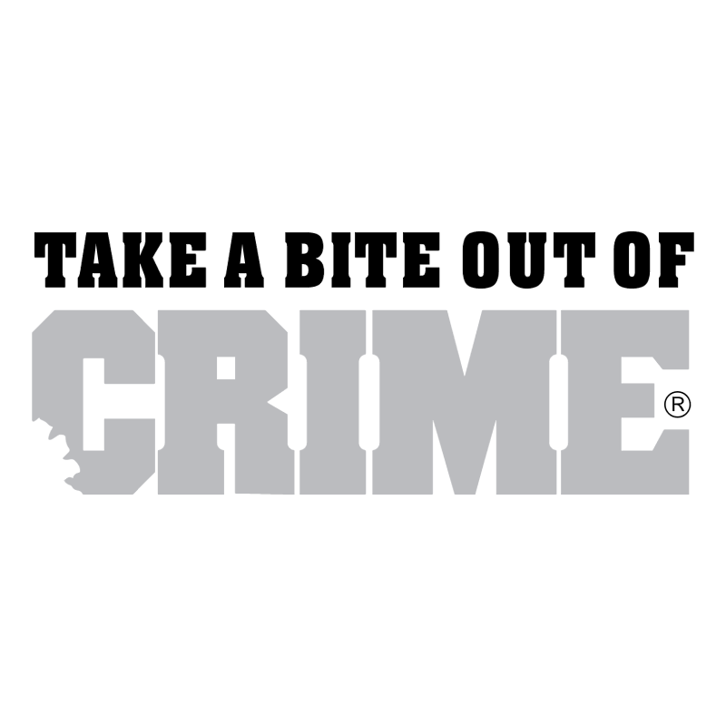 Crime vector logo