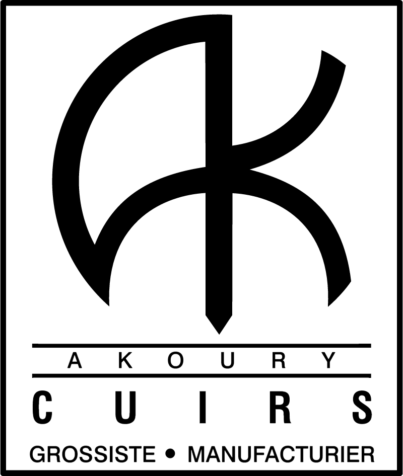 Cuirs Akoury logo vector