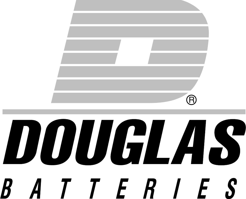 Douglas batteries vector logo