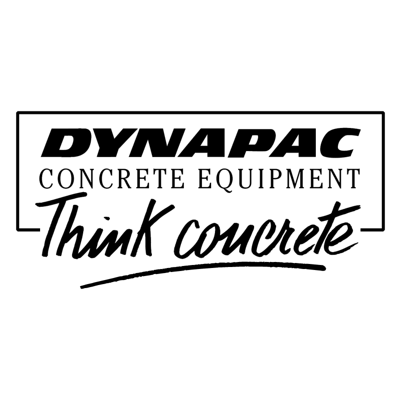 Dynapac Concrete Equipment vector logo
