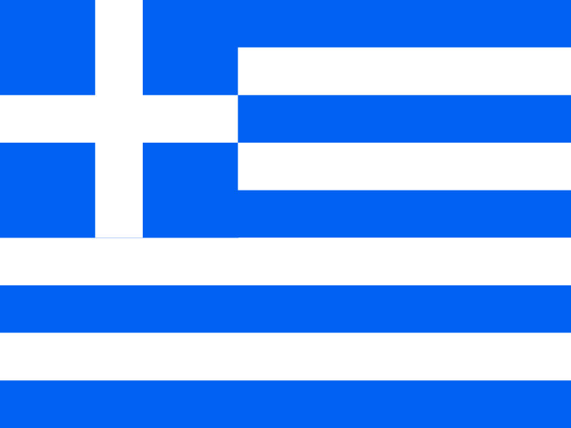 Flag of Greece vector logo