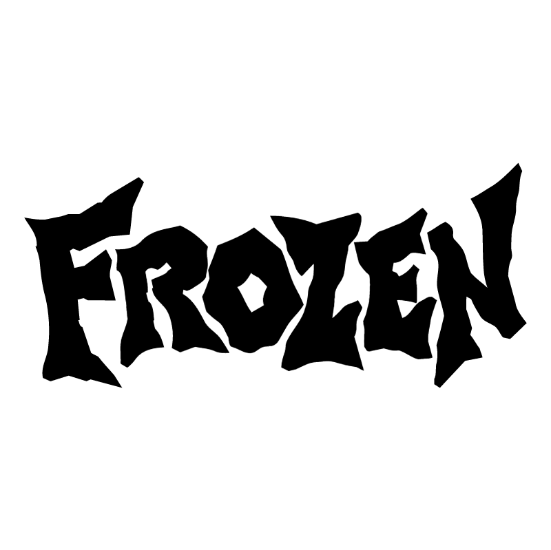 Frozen vector logo