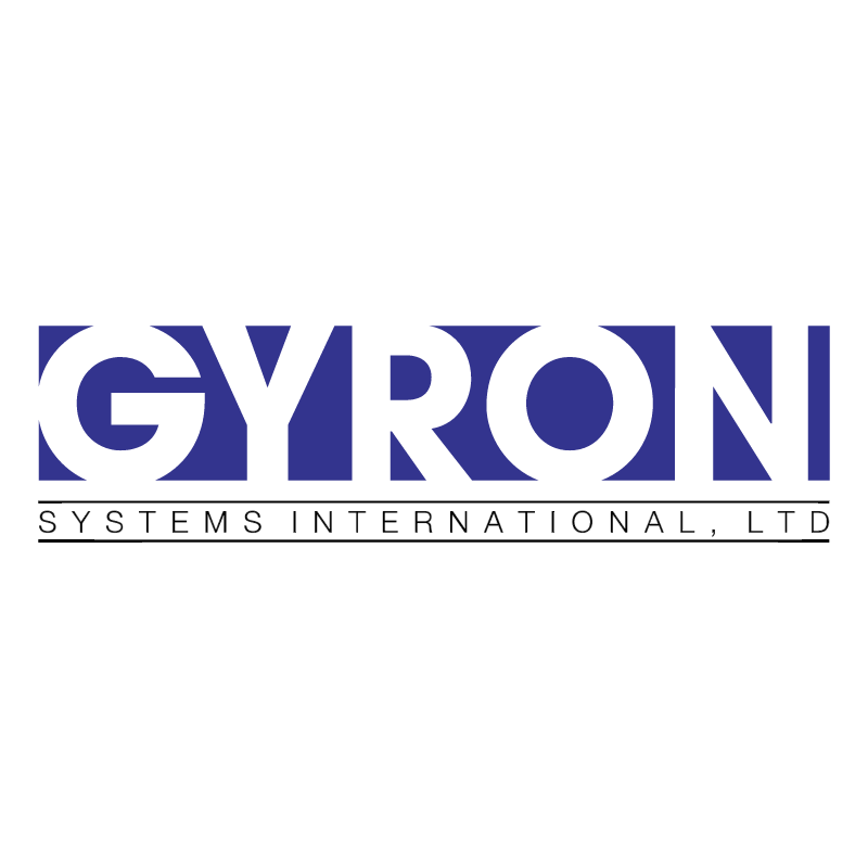 Gyron System International vector logo