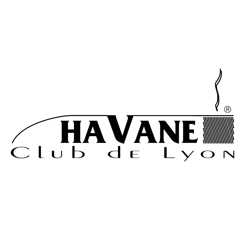 Havane Club de Lyon vector