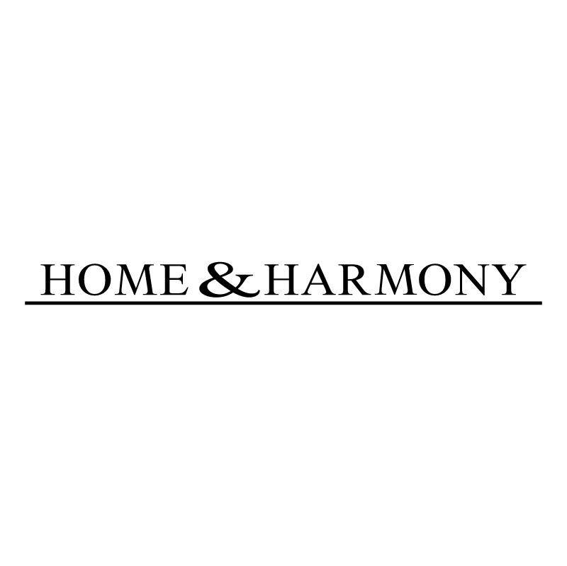 Home & Harmony vector logo