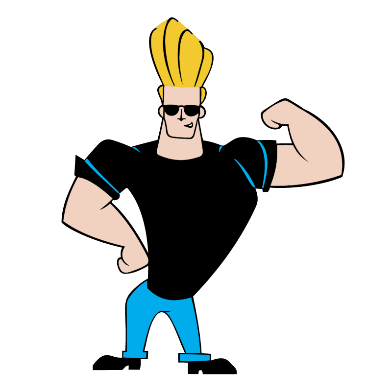 Johnny Bravo vector