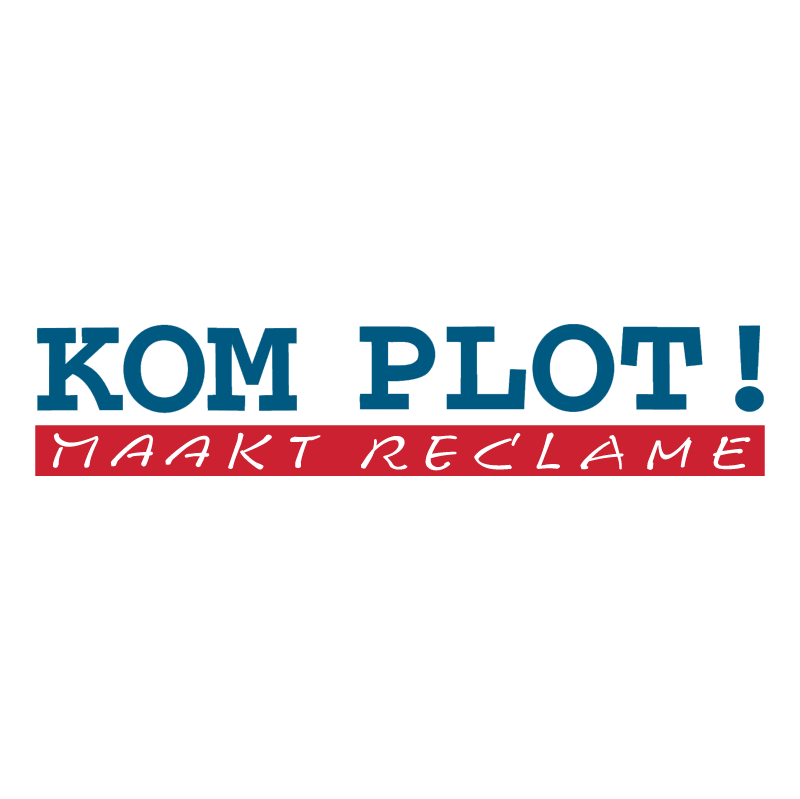 Kom Plot! vector