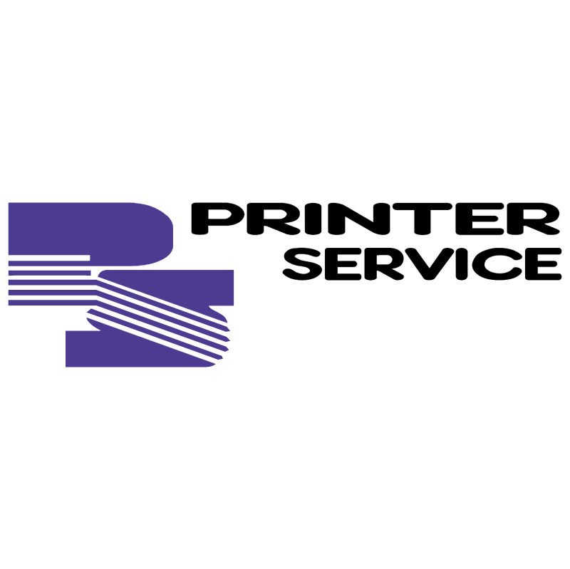 Printer Service vector logo