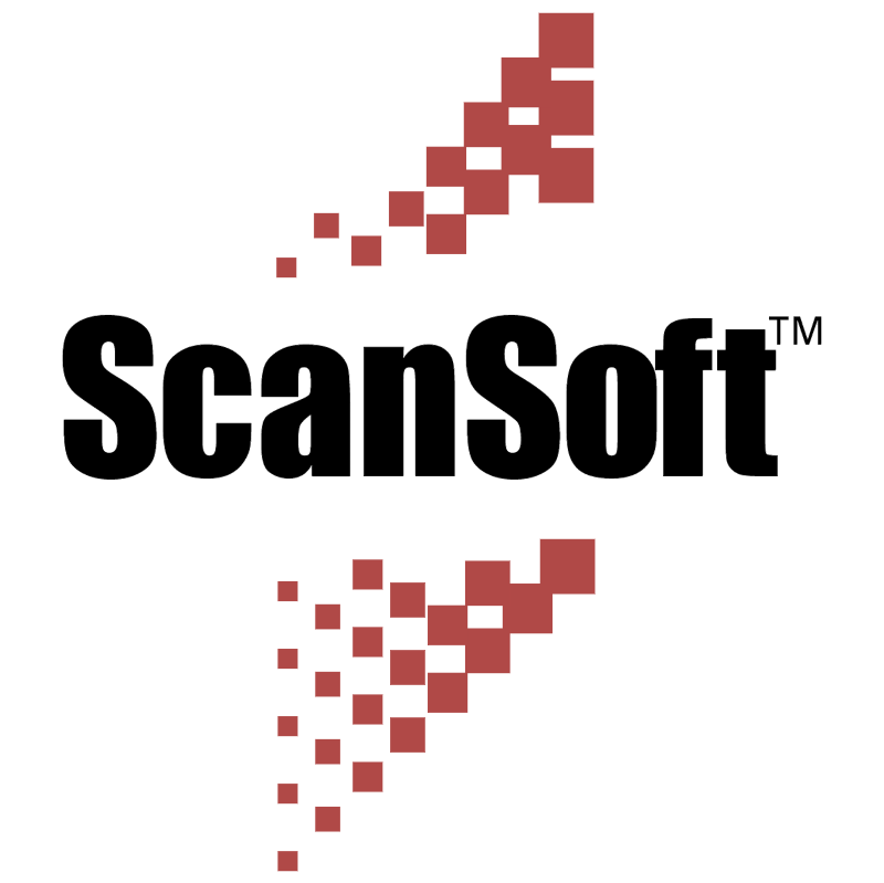 ScanSoft vector logo