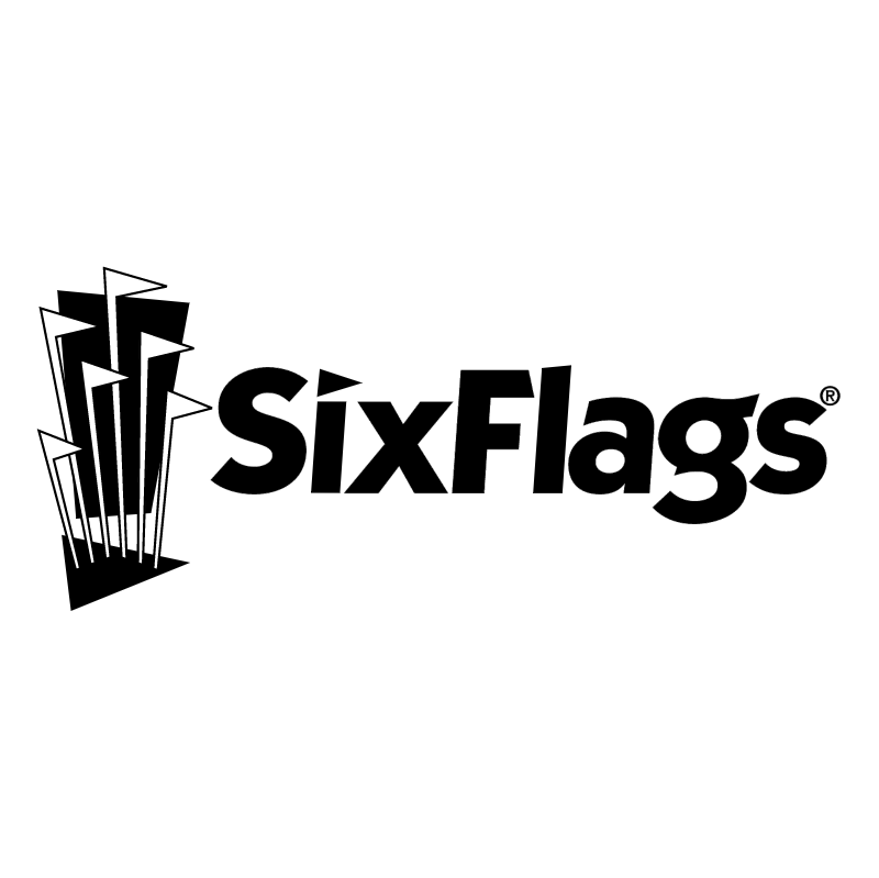 Six Flags vector