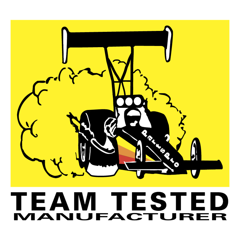 Team Tested Manufacturer vector
