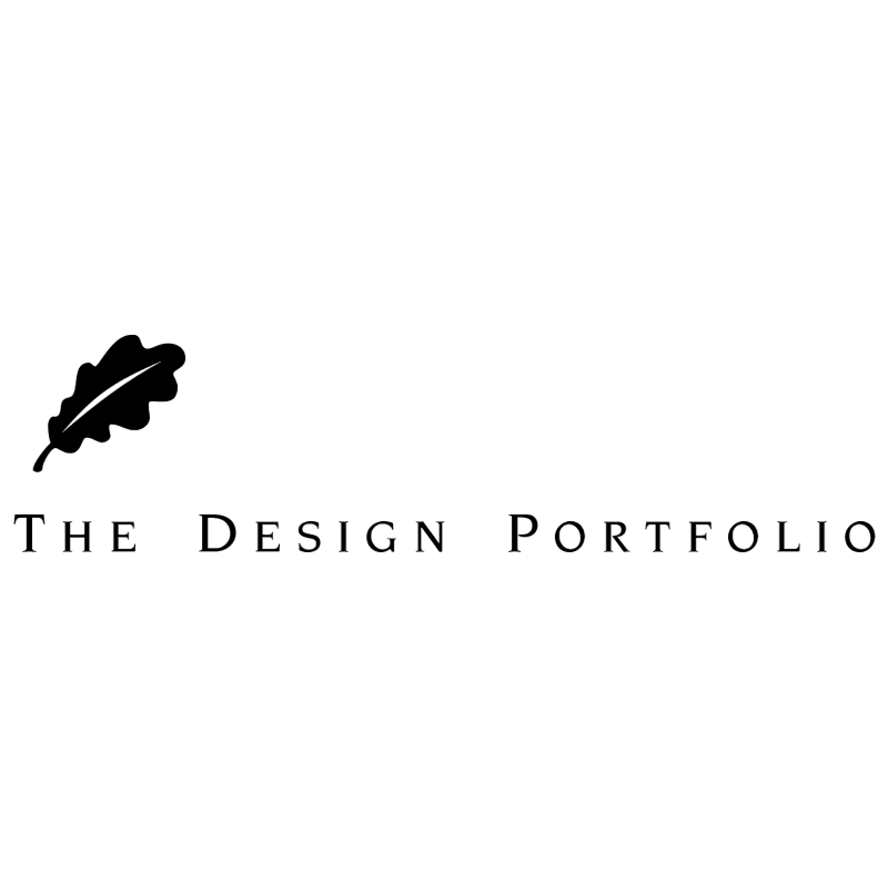 The Design Portfolio vector