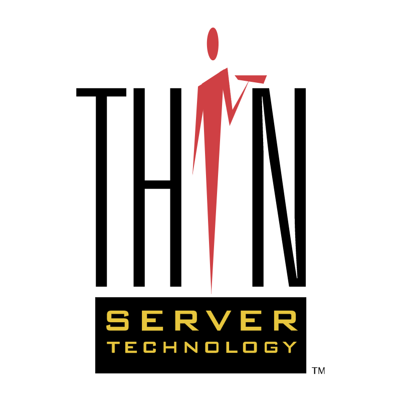 Thin Server Technology vector