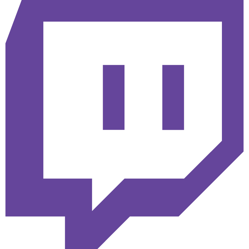 Twitch purple vector