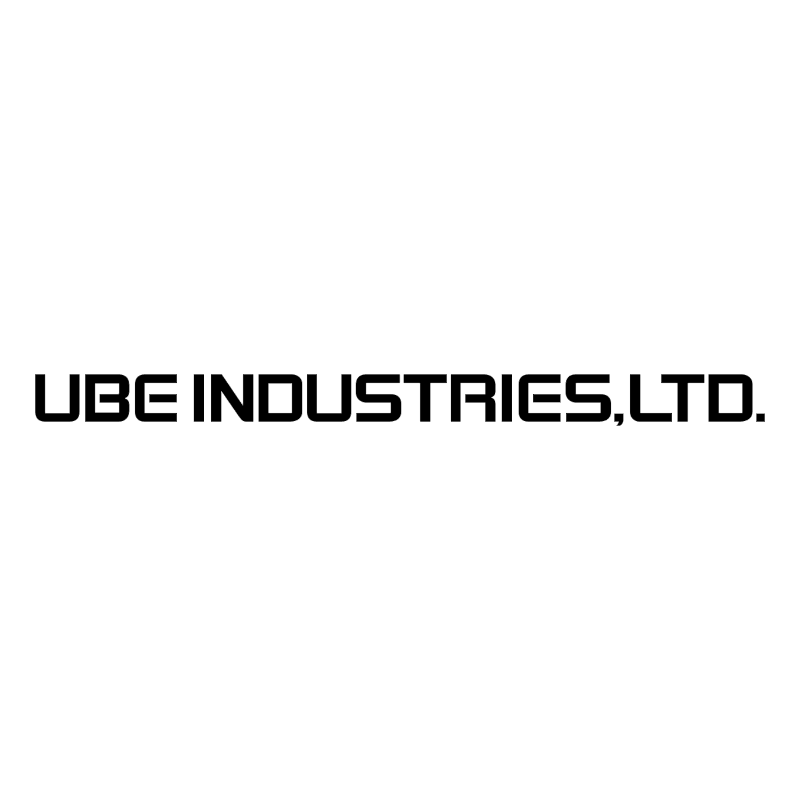 Ube Industries vector logo