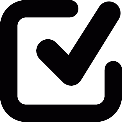 Check mark vector logo
