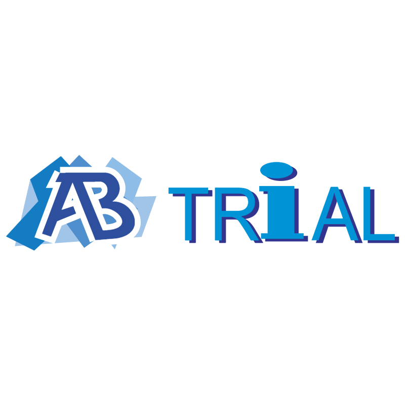AB Trial vector logo