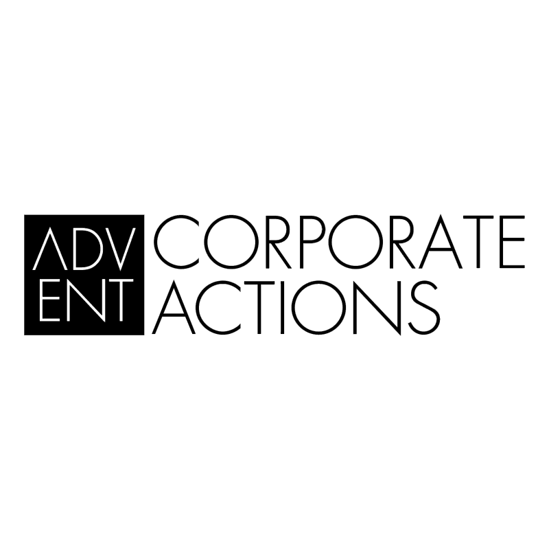 Advent Corporate Actions 41193 vector