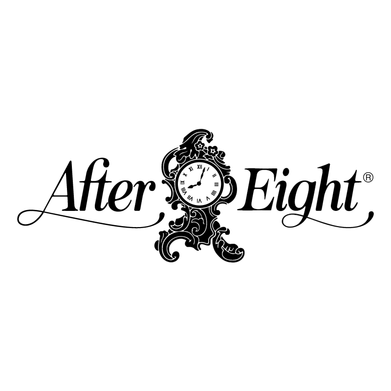 After Eight 40674 vector