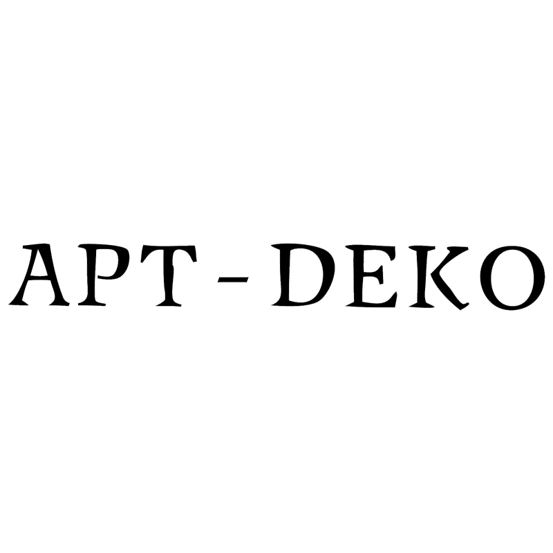 Art Deko vector logo