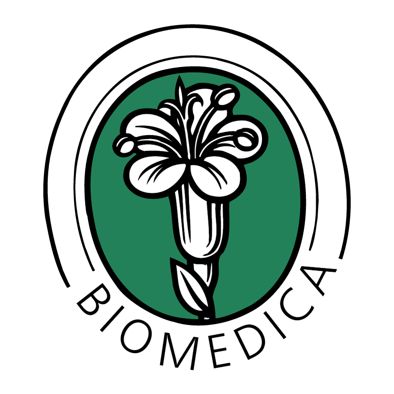 Biomedica vector logo