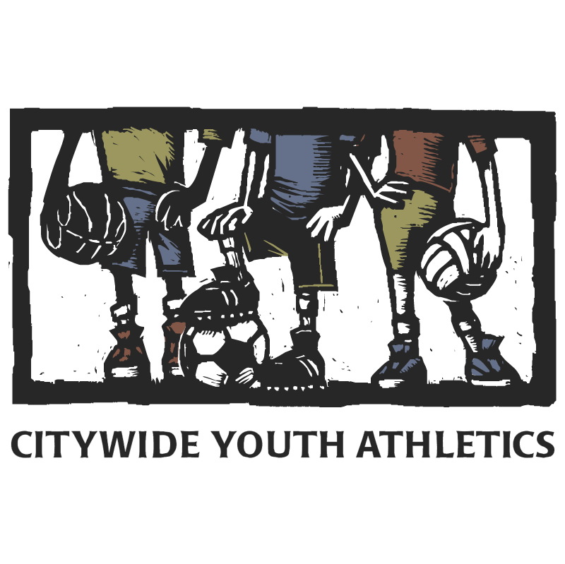 Citywide Youth Athletics vector