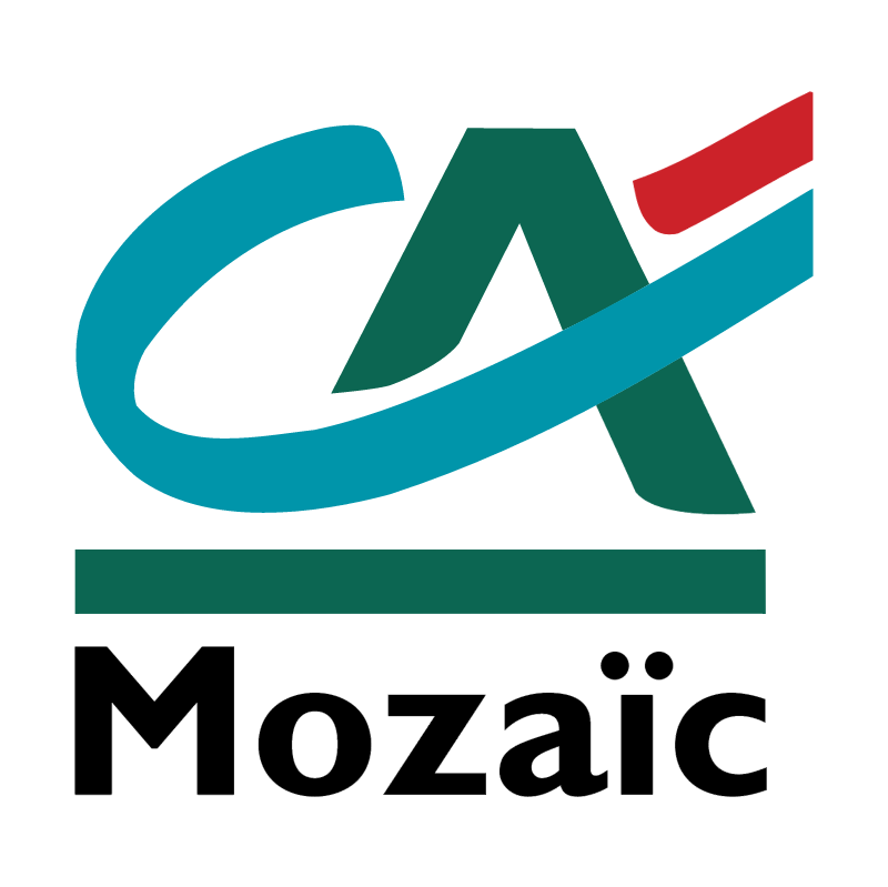 Credit Agricole Mozaic vector