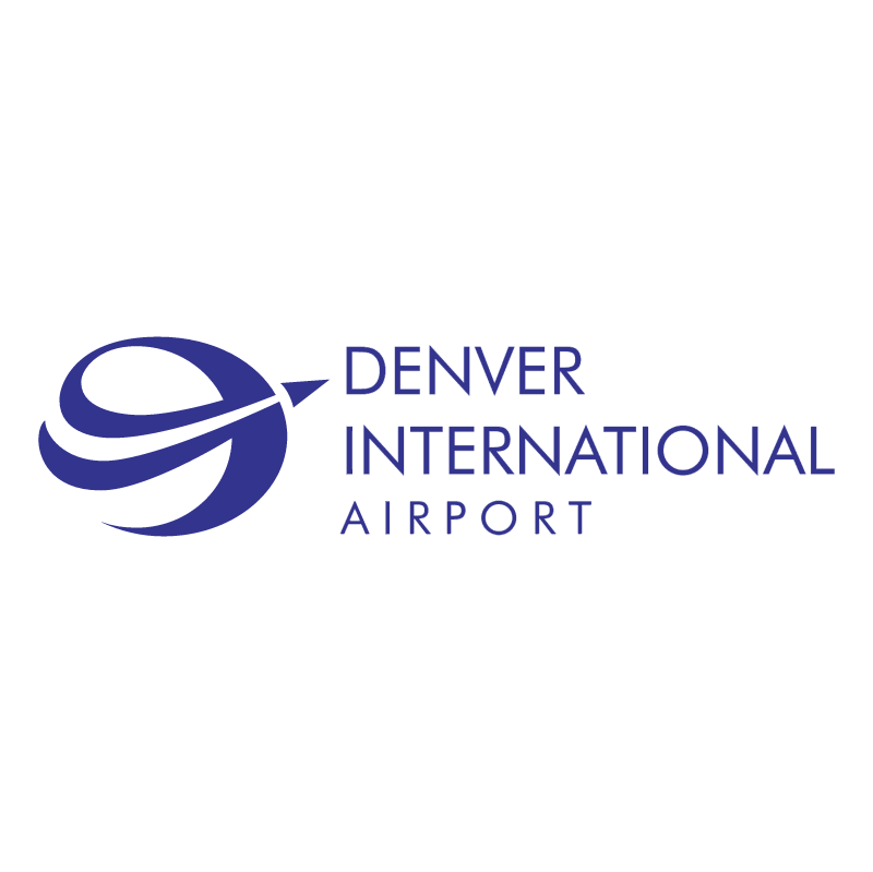 Denver International Airport vector