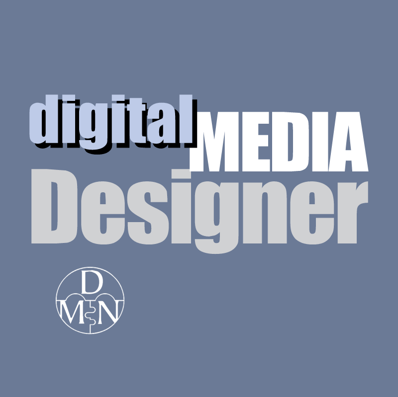 Digital Media Designer vector