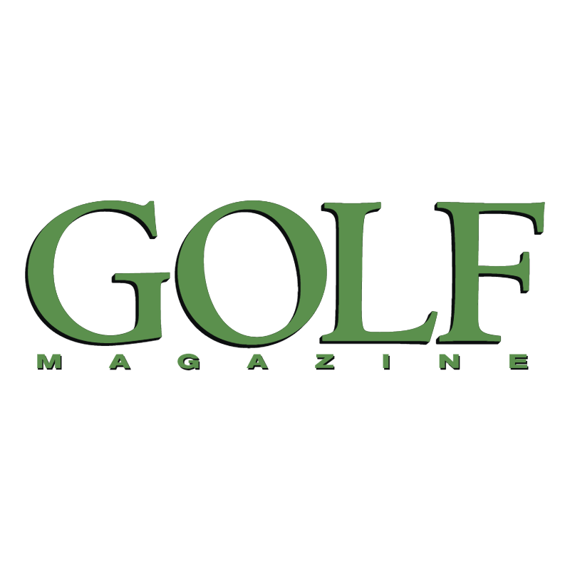 Golf Magazine vector