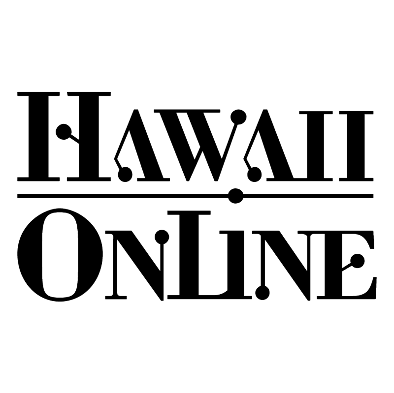 Hawaii OnLine vector